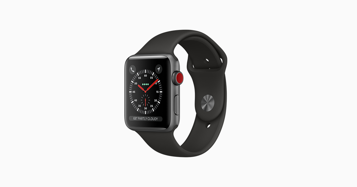 c15d526f0ce Apple Watch Series 3 - Apple