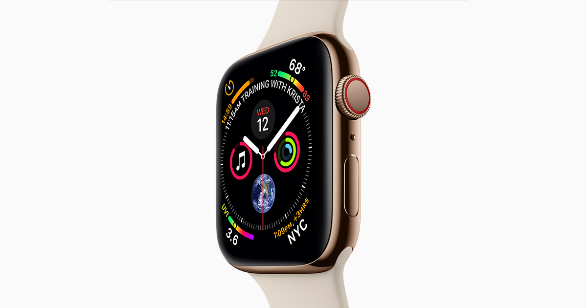 714911802  Apple Watch Series 4 - Apple (الإمارات)
