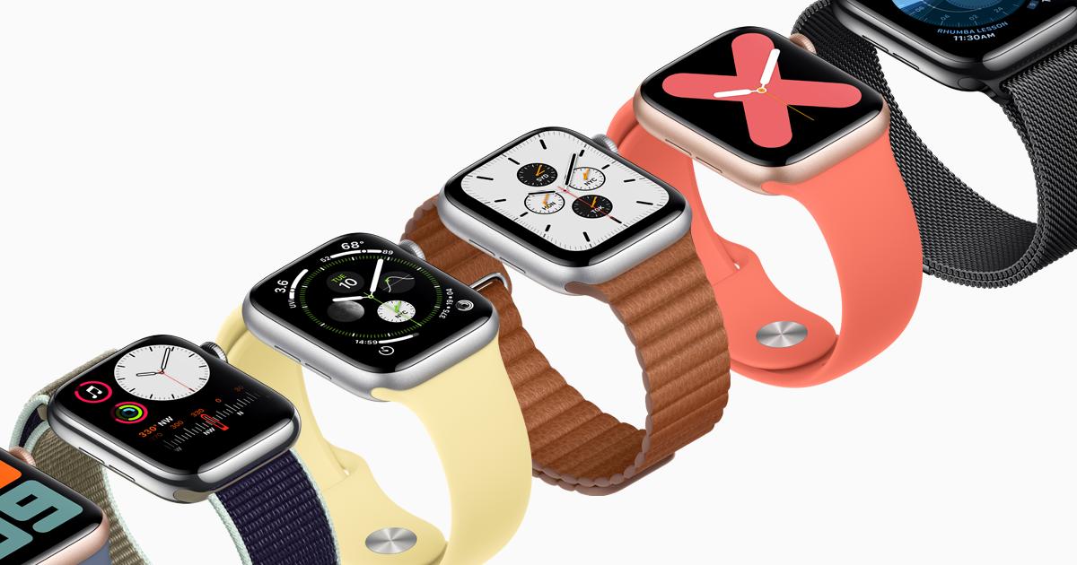 Apple Watch Series 5 Design Apple