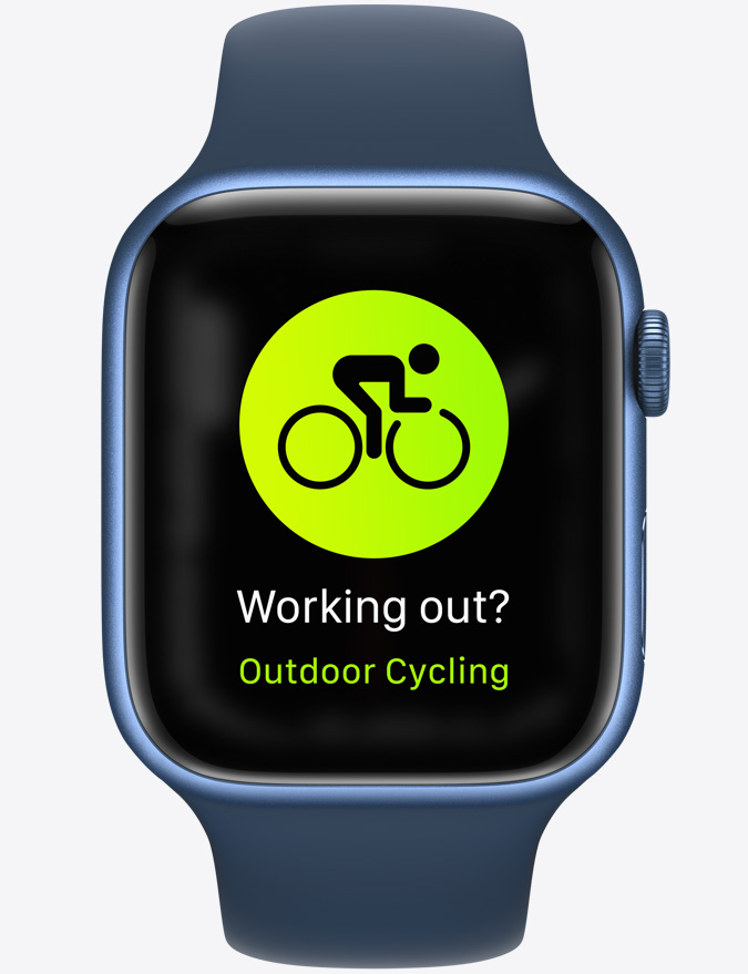 Apple Watch Outdoor Cycling