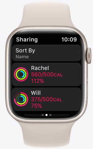 Apple Watch Sharing