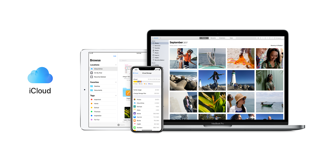 apple cloud storage