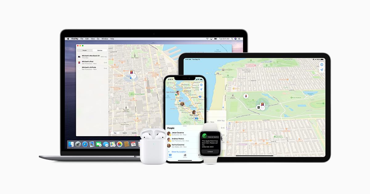 iCloud - Find My - Apple