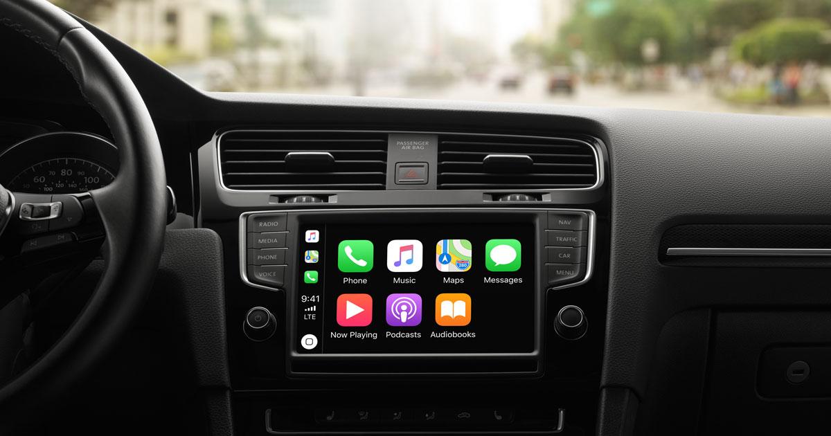 Ios Carplay Available Models Apple Sa