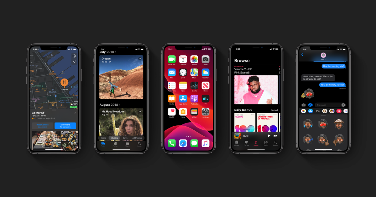 iOS 13 Preview - Features - Apple