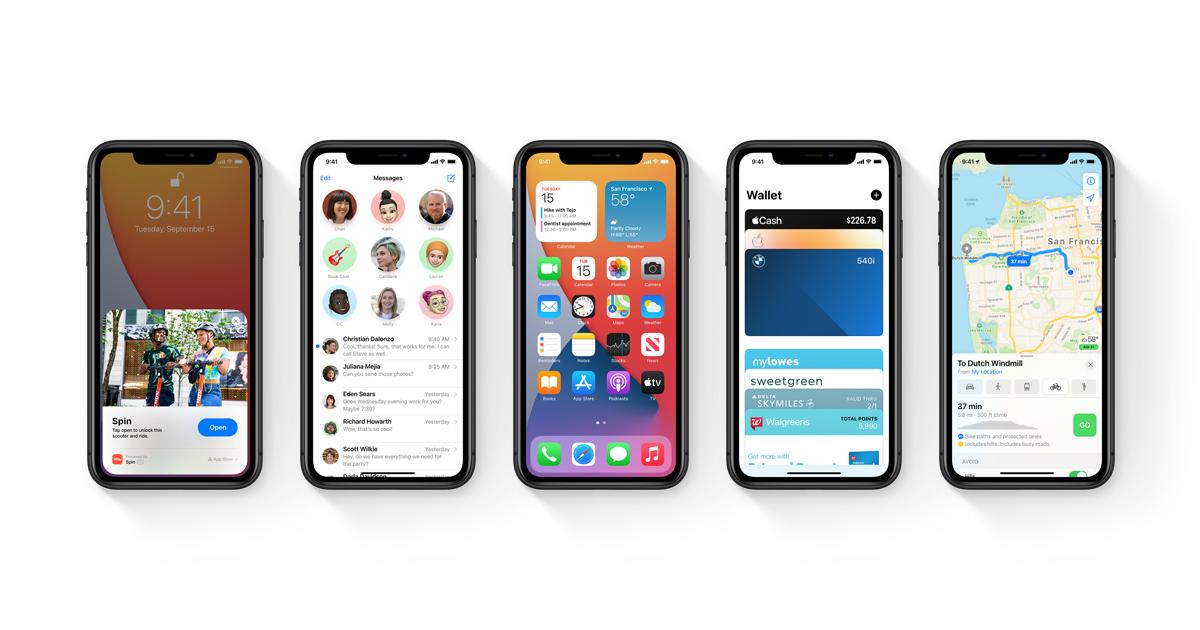 iOS 14 - Apple (BR)