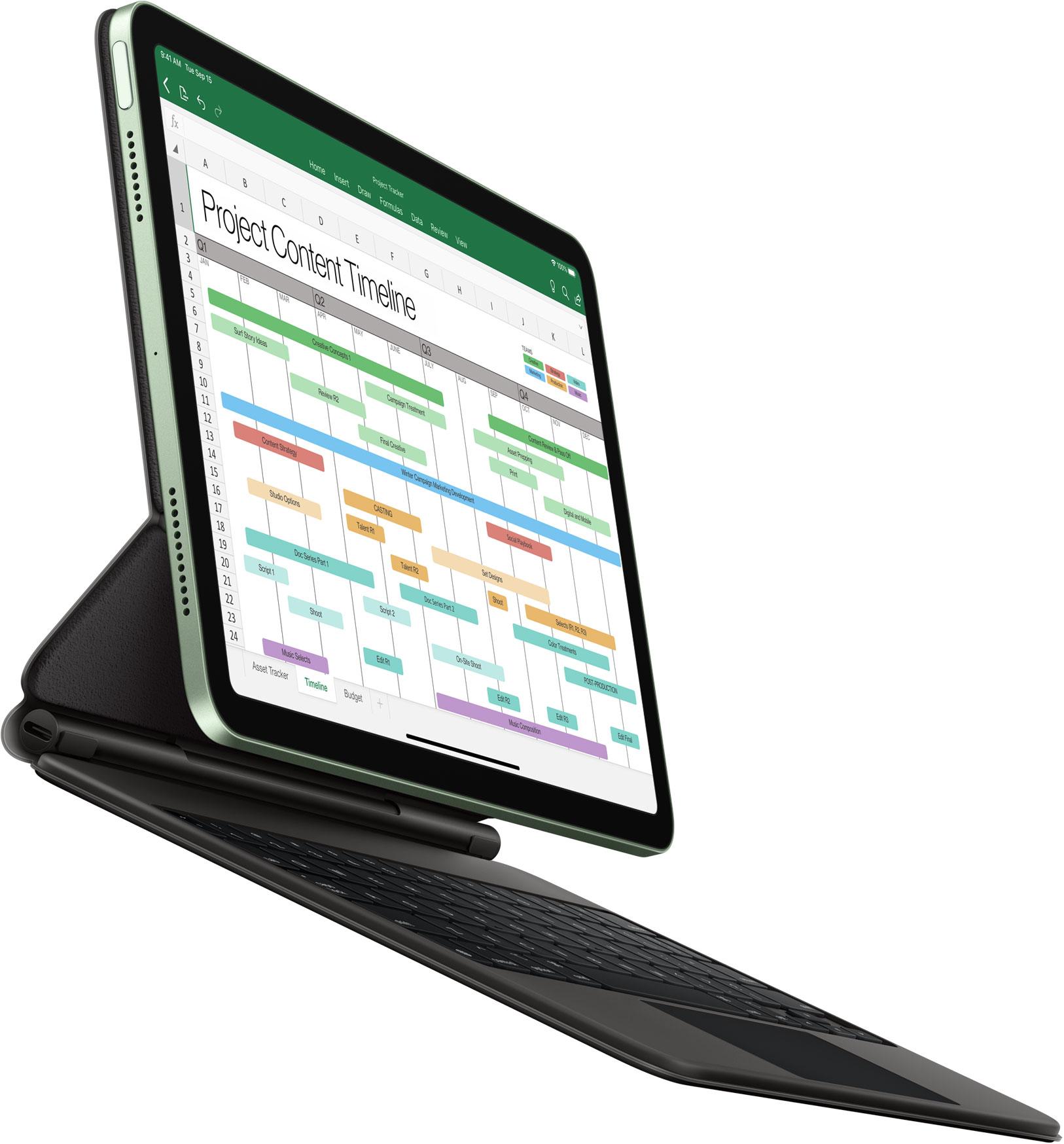استخدام الايباد اير مع لوحة مفاتيح ابل Magic Keyboard