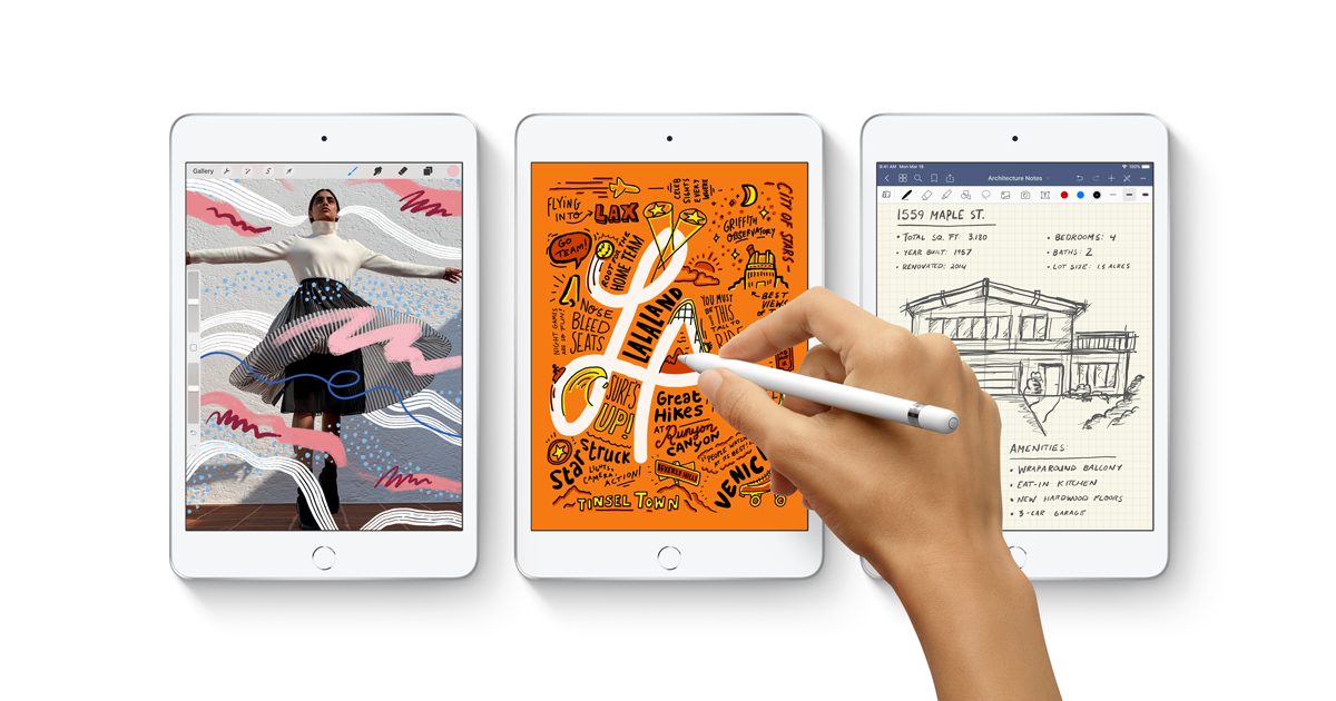 Apple : Video featuring iPad Air and iPad mini