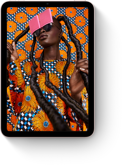 Photos app on iPad mini