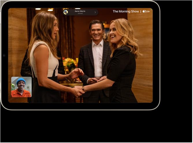 SharePlay with Apple TV on iPad mini