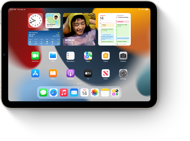 Widgets on Home Screen