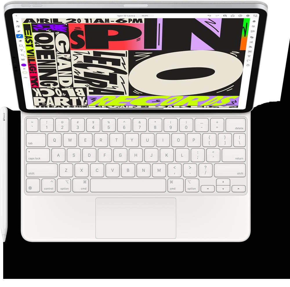 Apple Magic Keyboard & Apple Pencil