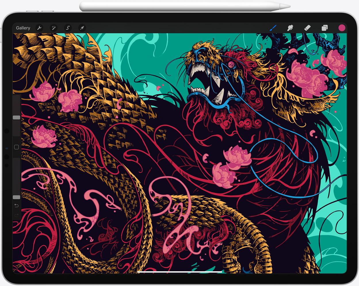 iPad Pro con trackpad