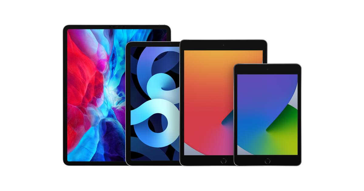 iPad - 모델 비교하기 - Apple (KR)