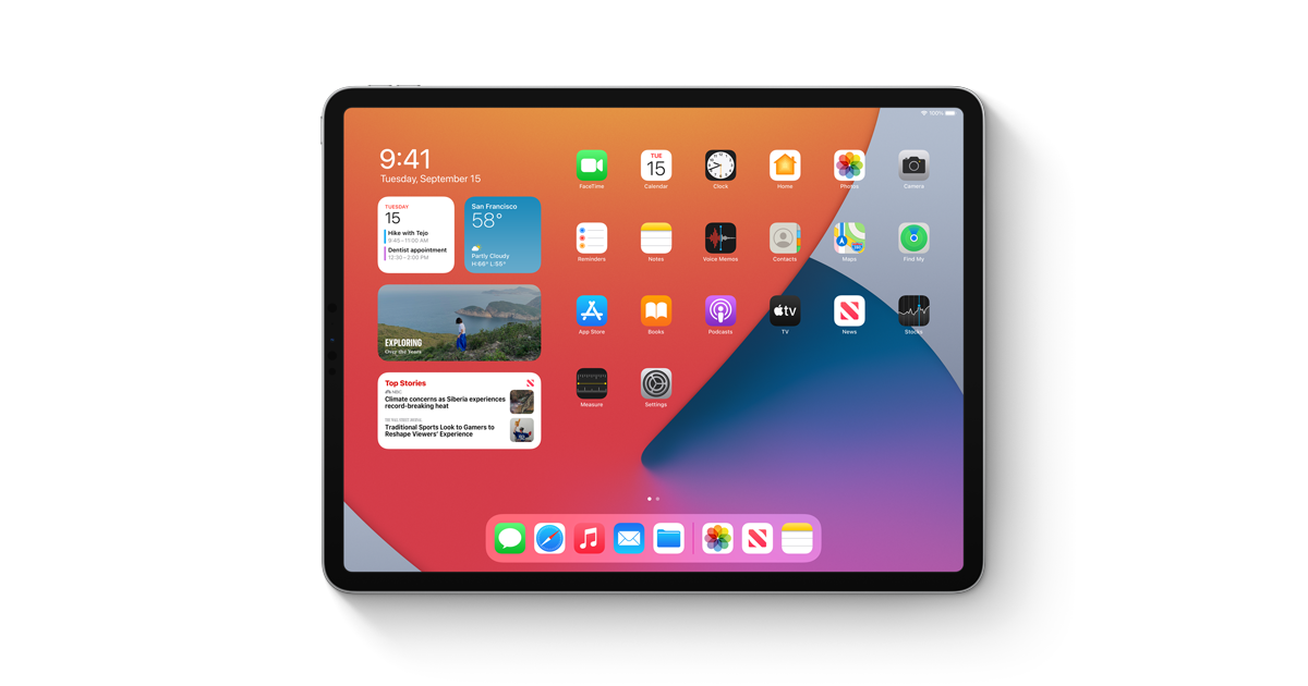 iPadOS 14 - Apple