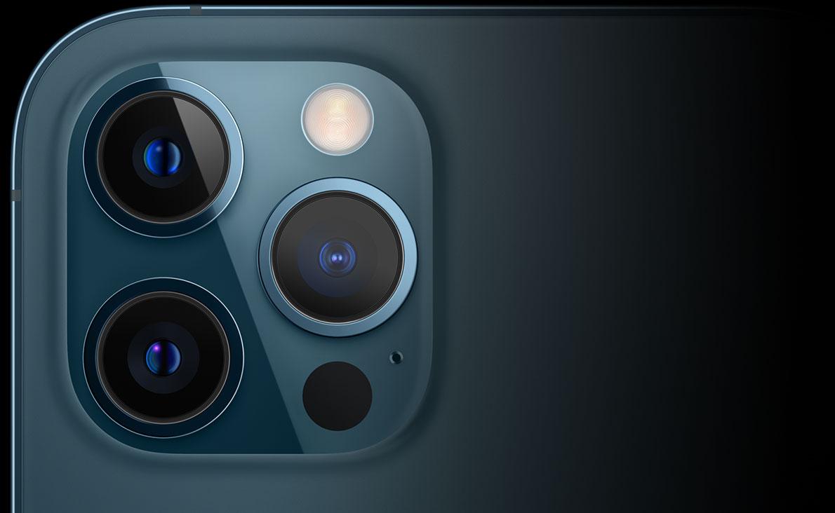 Новый iPhone 12 Pro имеет набор профессиональных камер с поддержкой Ночного режима на широкоугольной и ультраширокоугольной линзах, что позволит вам делать потрясающие снимки в условиях ночного освещения. Кроме того, благодаря поддержке технологии LiDAR, вы сможете делать снимки в портретном режиме даже ночью.