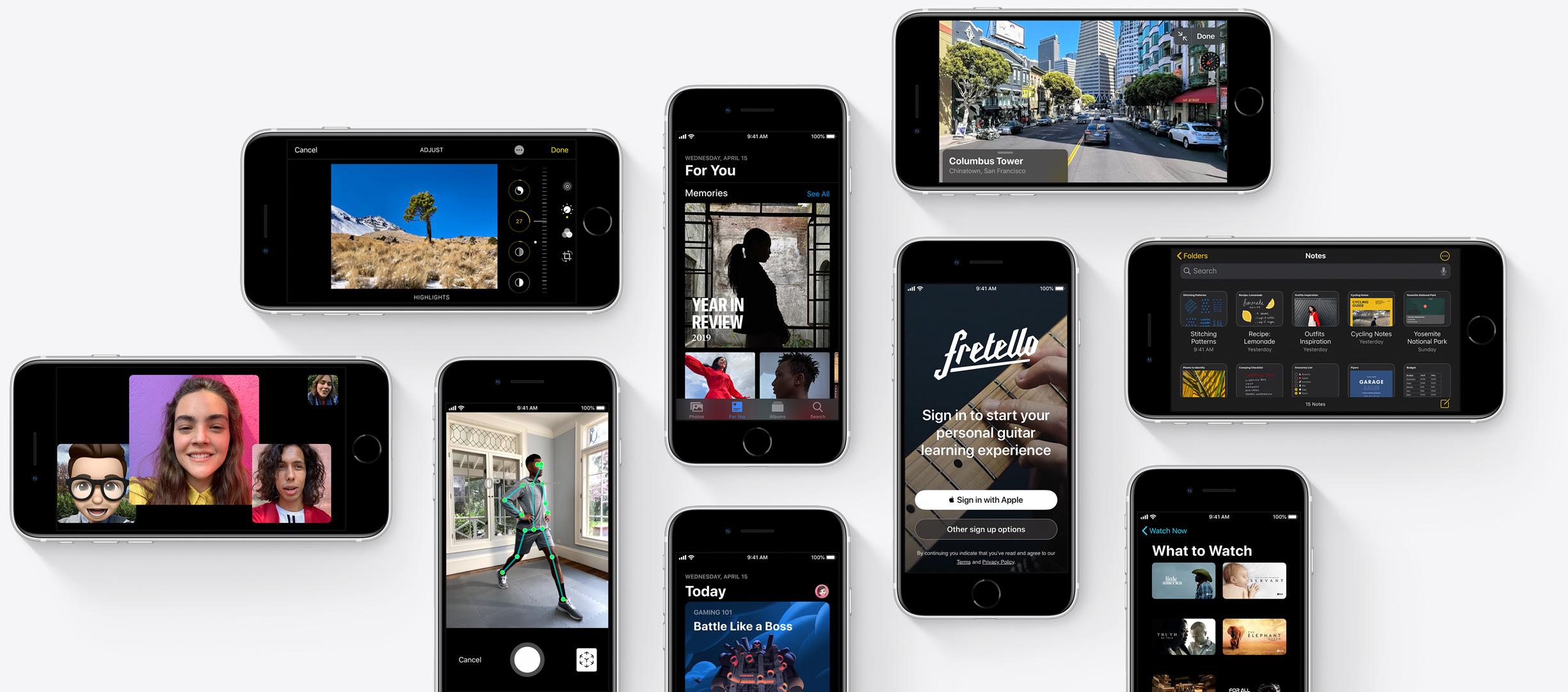 Говоря общими словами – новый iPhone SE имеет