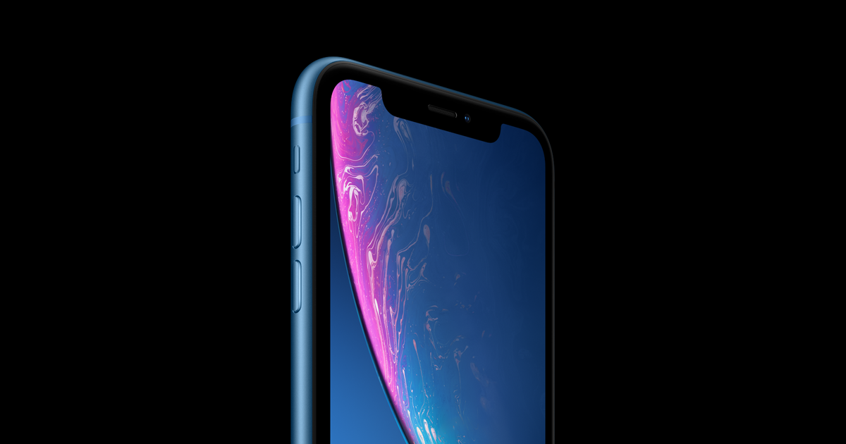 pretty nice e19b9 6b5de iPhone XR - Display - Apple