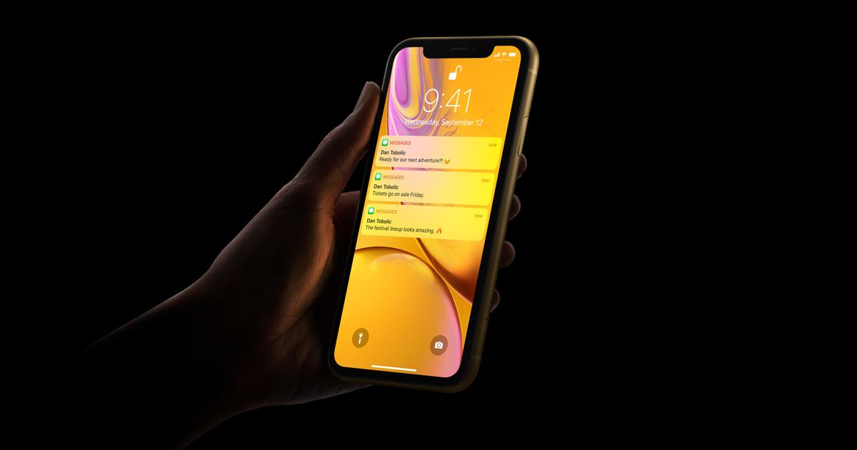 iPhone XR - Face ID - Apple