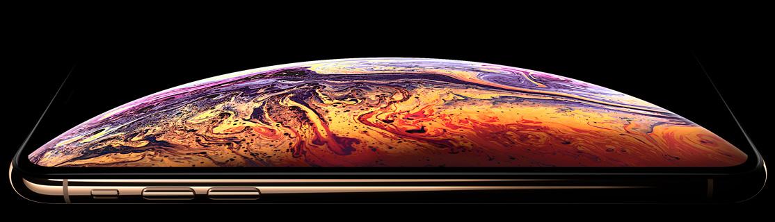 iphone xs вид полу бок
