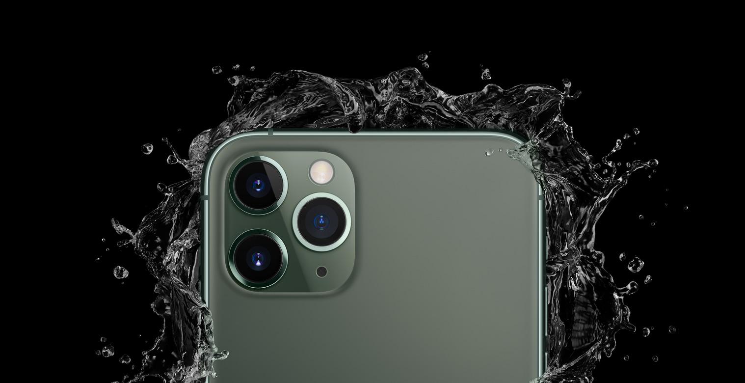 iPhone 11 Pro 可在 4 米水深停留 30 分钟