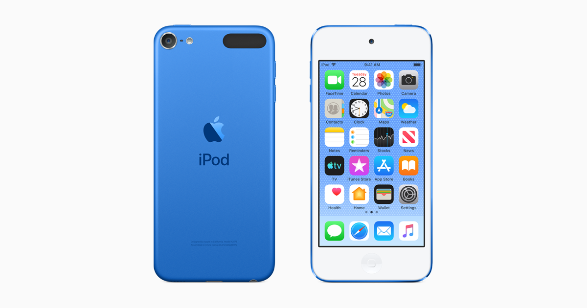 iPod touch - Technical Specifications - Apple