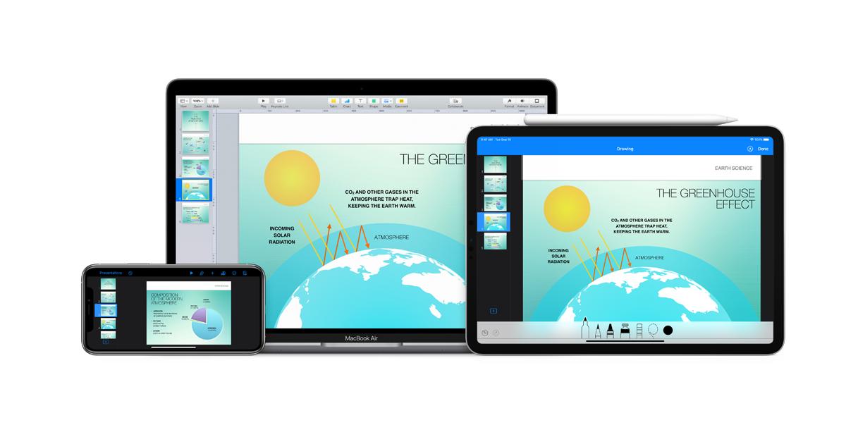 keynote for macbook air free download