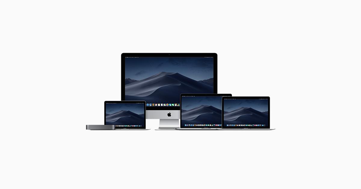 Mac - Compare Models - Apple