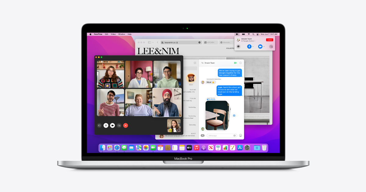 macOS Monterey Preview - New Features