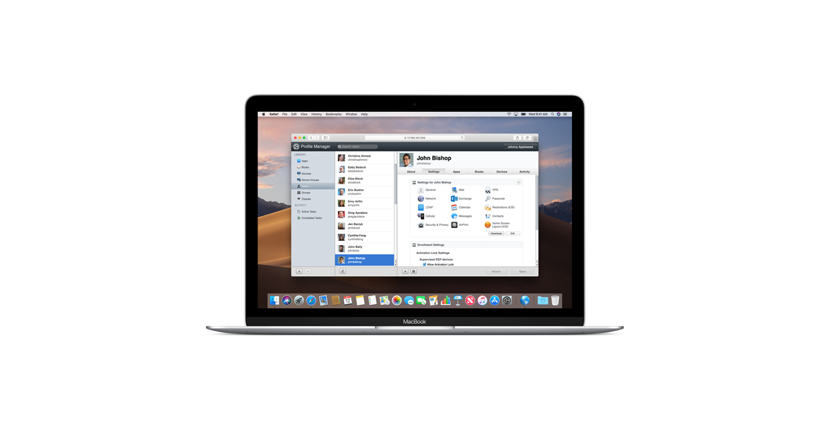 macOS Server - Features - Apple