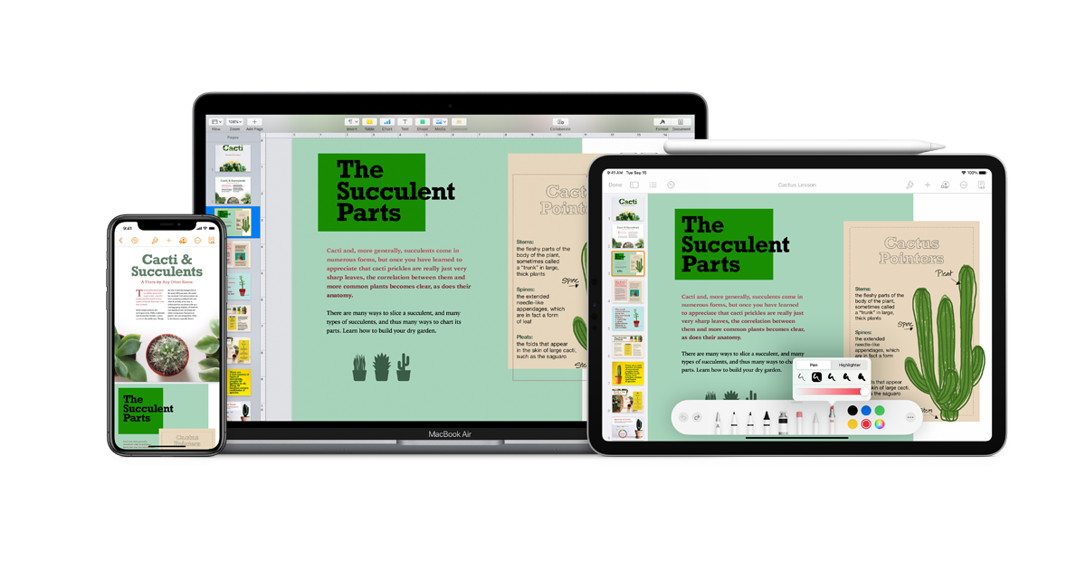 Pages - Features - Apple (SG)