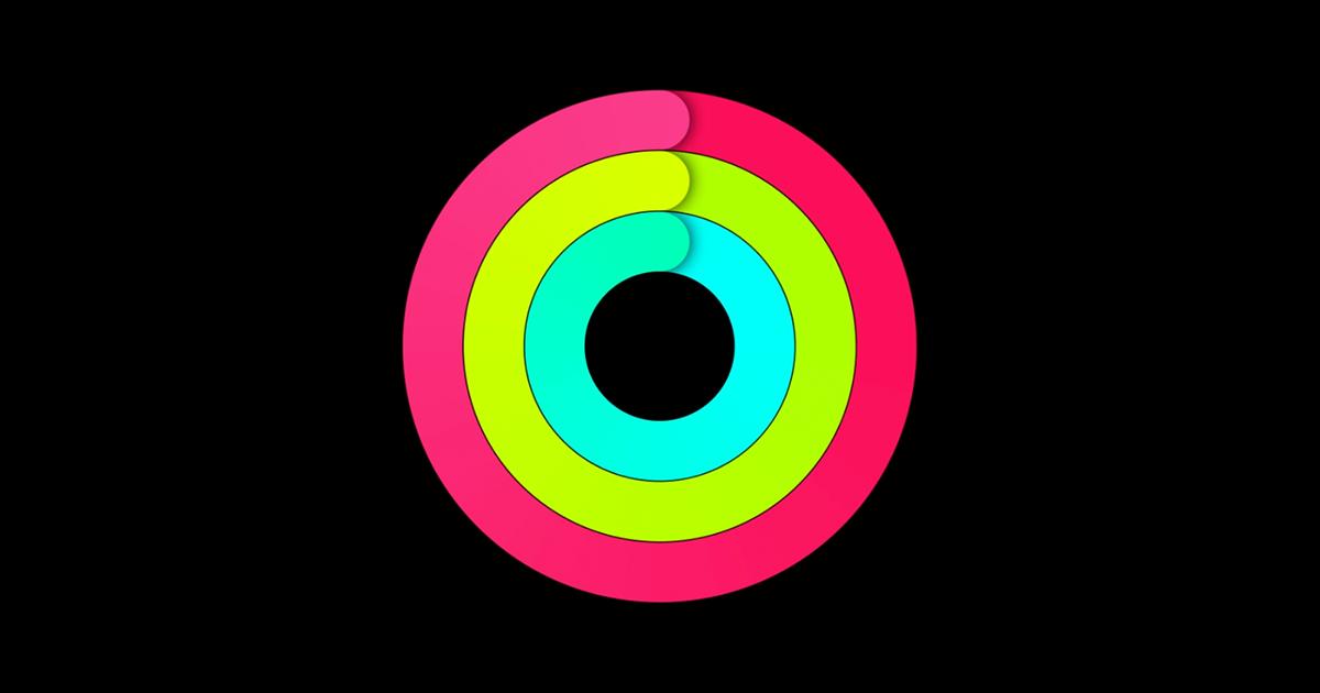 ムーブ。エクササイズ。スタンド。3つのアクティビティのリングをApple Watch上で毎日完成させて、より健康的な毎日を送りましょう。