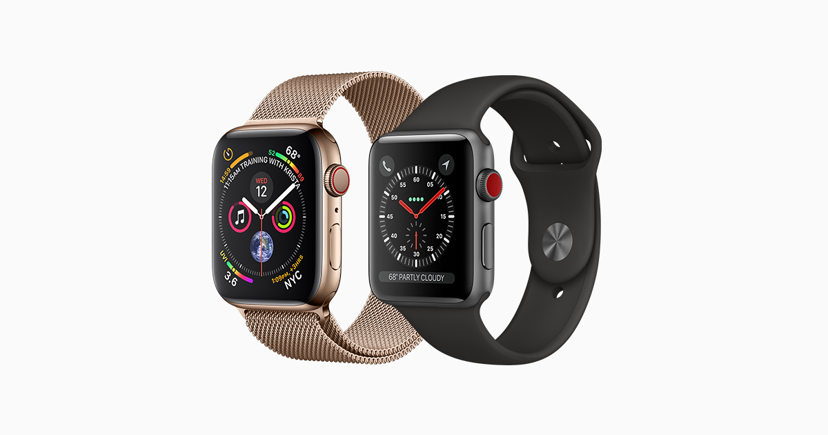 Apple Watch Compare Models Apple In
