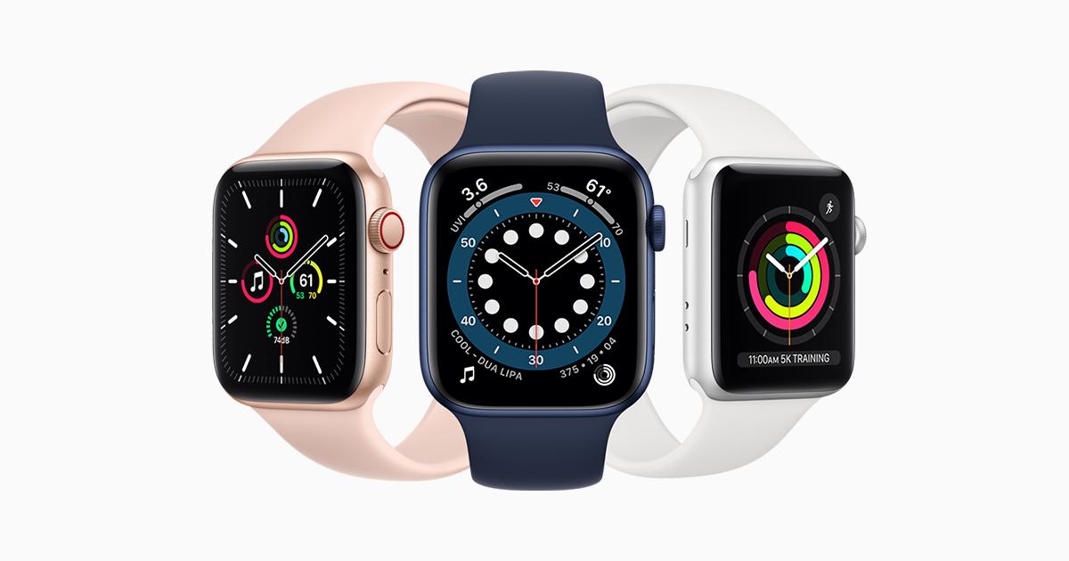 Intermedio Envío carbohidrato  Apple Watch - Compare Models - Apple