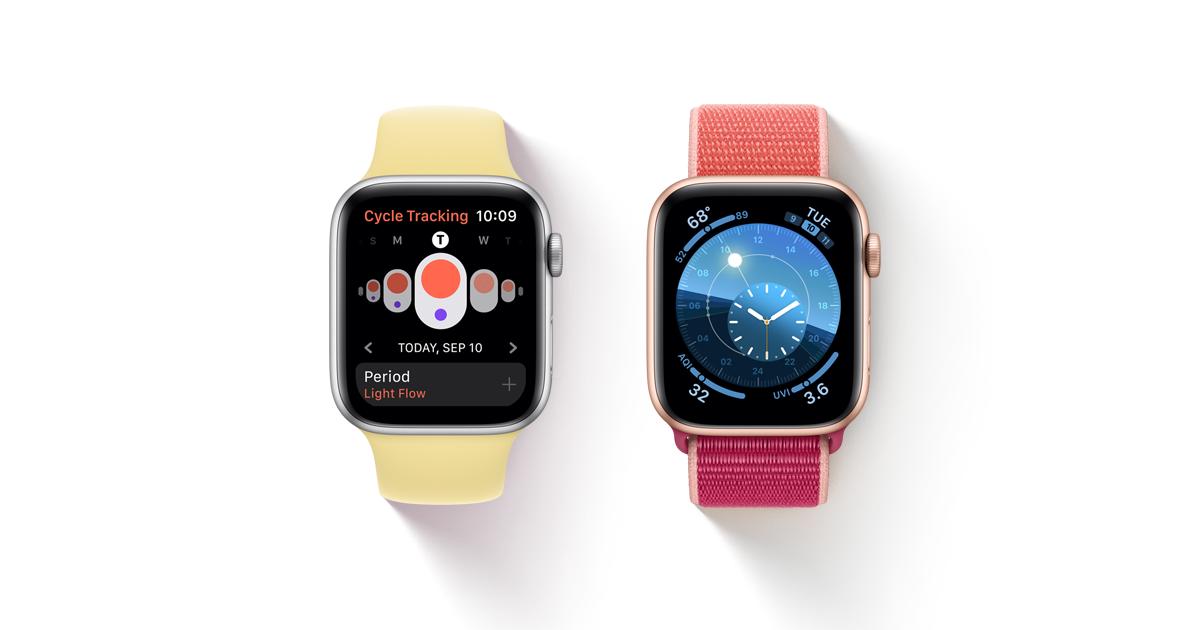 Watchos 6 Apple